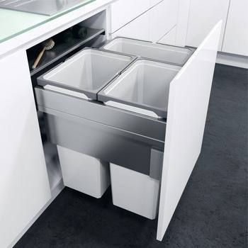 Hafele VS Oeko XXLiner Waste Bin For 600mm Wide Cabinet