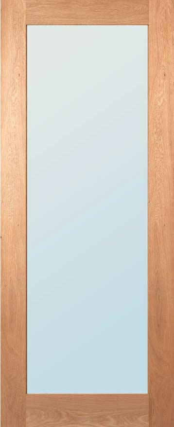 Deanta Walden 1981mm x 838mm Obscure Glazed Internal Oak Door Unfinished