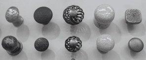 Cupboard door knobs